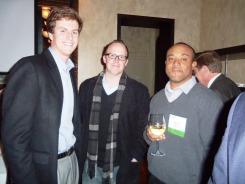 NAIOP Members Matt Winters, Derrick Minor, and Nathaniel Pettiford