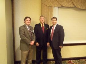 Holton Wilkerson, Speaker Tillis, Mike Munn